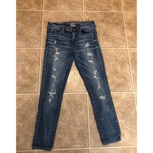 American Eagle Mid-Rise Jegging Ankle Jeans